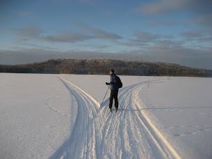 Лыжный патруль с Кенозера на Лекшмозеро (Юг Архангельской области)